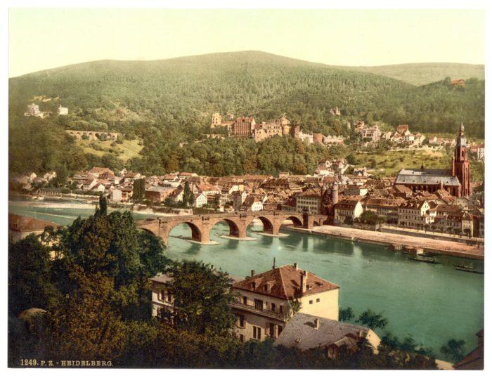 Heidelberg, Blick vom Philosophenweg