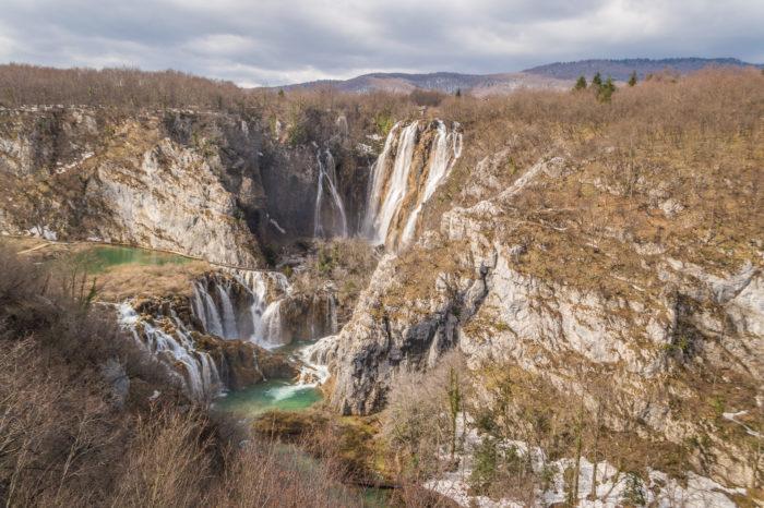 Manojlovac Wasserfall, Krker Nationalpark